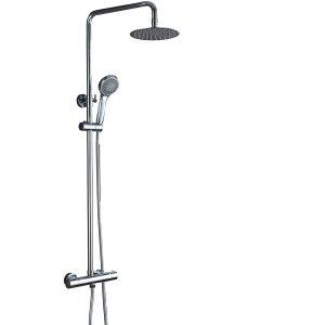 Conjunto de ducha termostatica Imex Kent BTK017