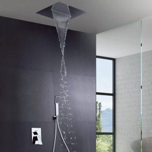 Conjunto ducha empotrado